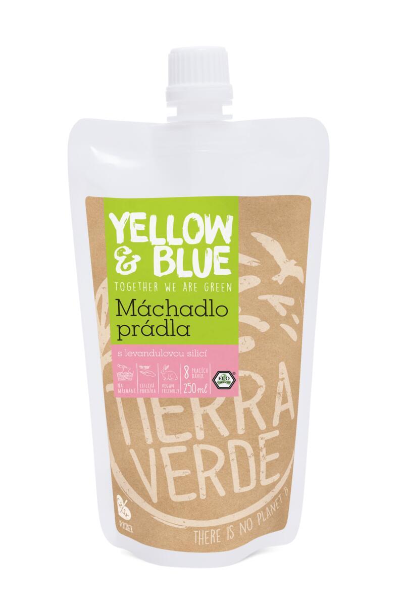 Tierra Verde – Máchadlo prádla (Yellow & Blue), 250 ml