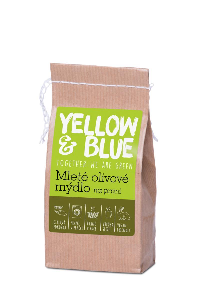 Yellow&Blue Mleté olivové mýdlo (pap. sáček 200 g)