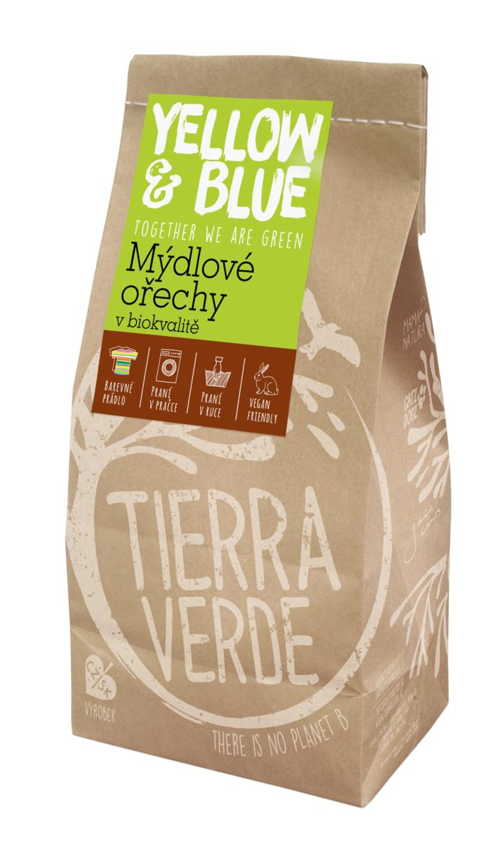 Yellow&Blue Mýdlové ořechy (pap. sáček 500 g)