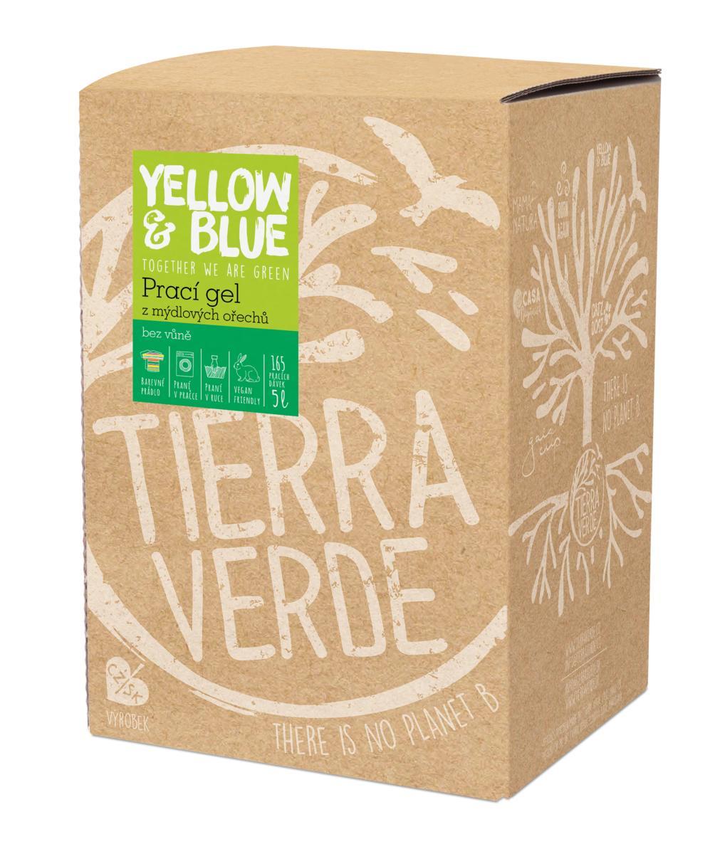 Yellow&Blue Prací gel bez vůně (bag-in-box 5 l)