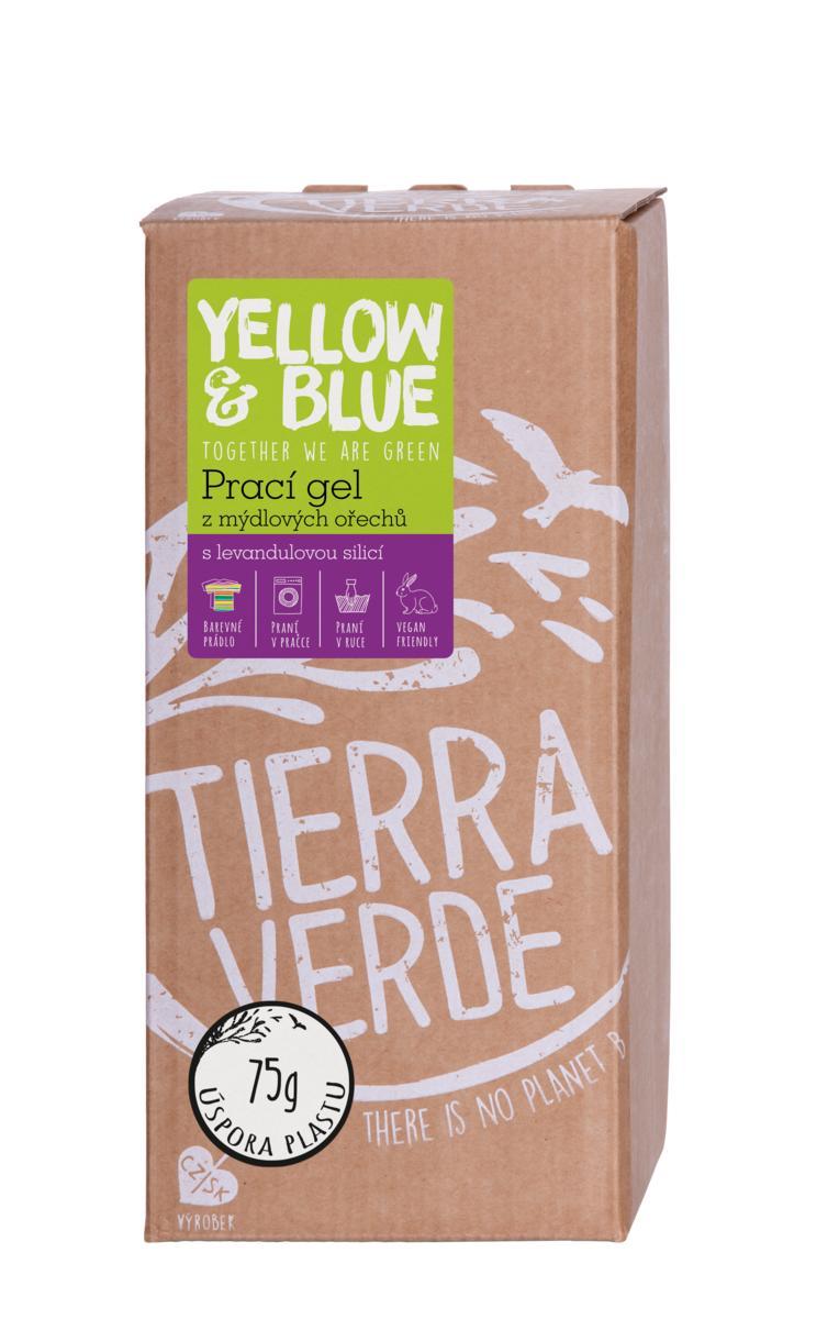 Yellow&Blue Prací gel levandule (bag-in-box 2 l)