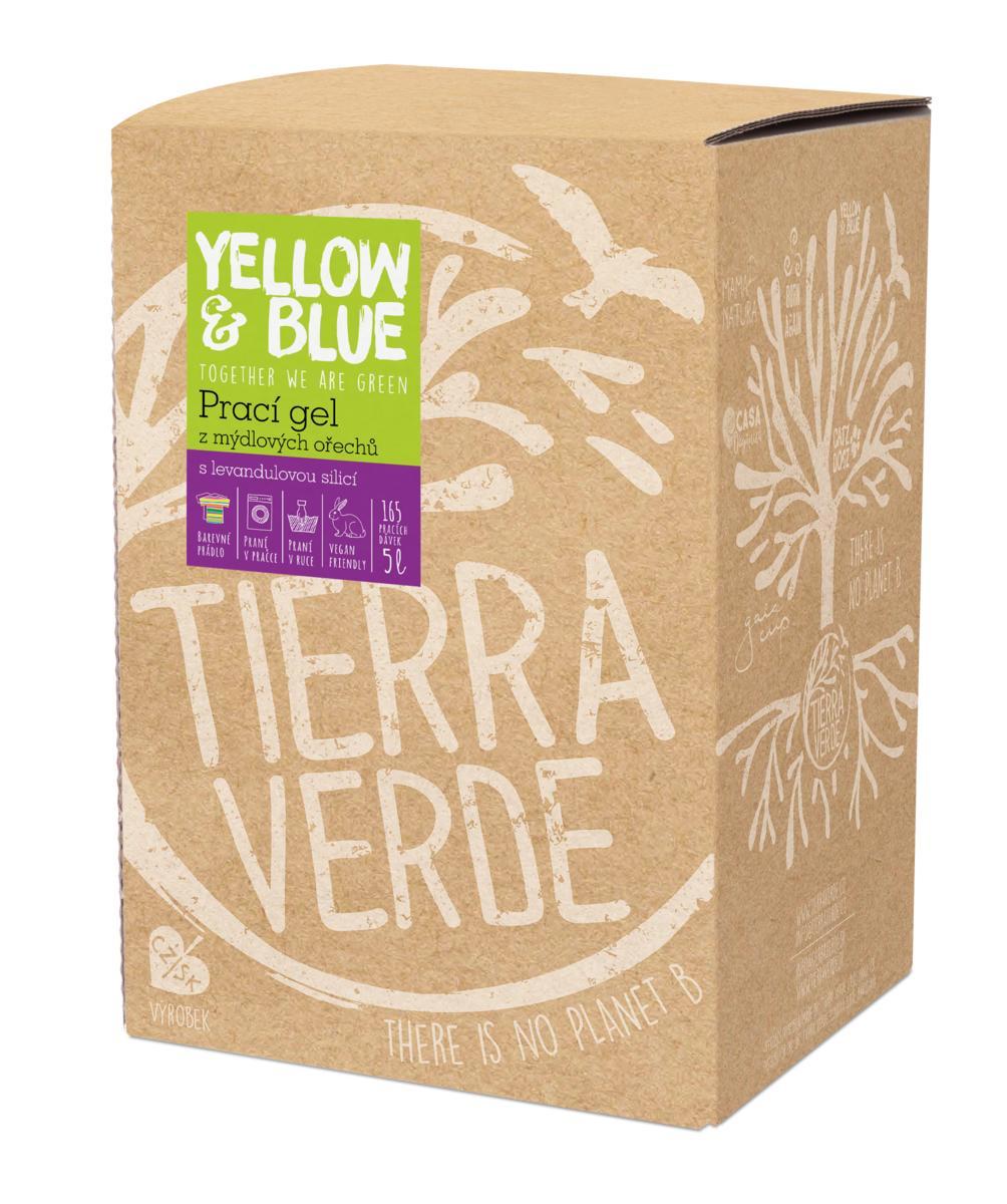 Yellow&Blue Prací gel levandule (bag-in-box 5 l)