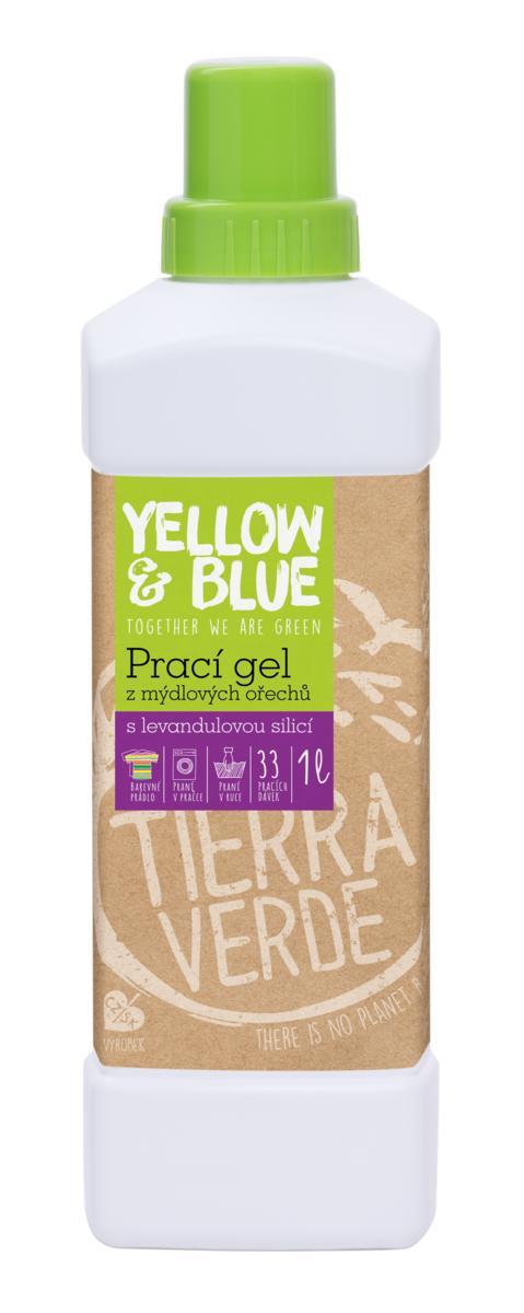 Yellow&Blue Prací gel levandule (lahev 1 l)