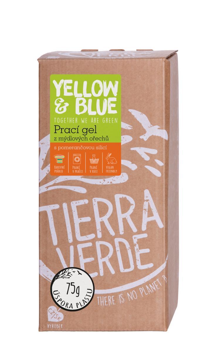 Yellow&Blue Prací gel pomeranč (bag-in-box 2 l)