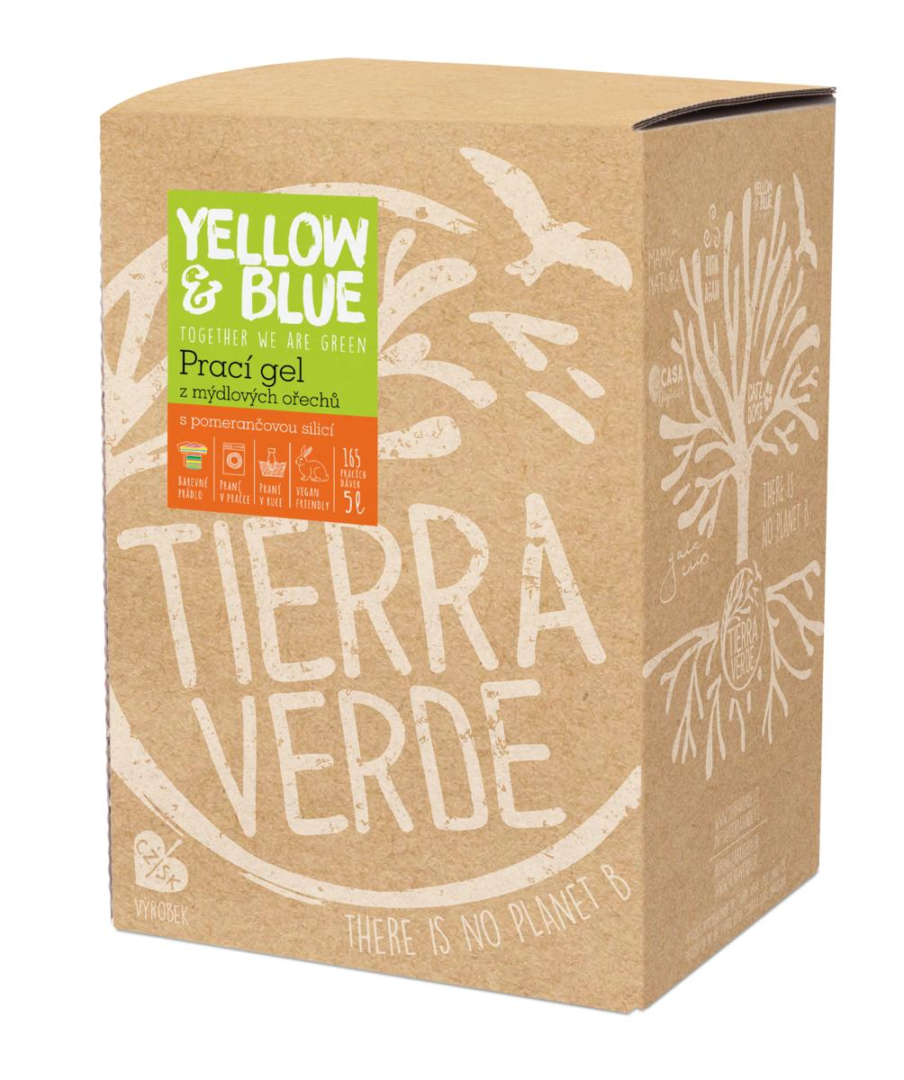 Yellow&Blue Prací gel pomeranč (bag-in-box 5 l)