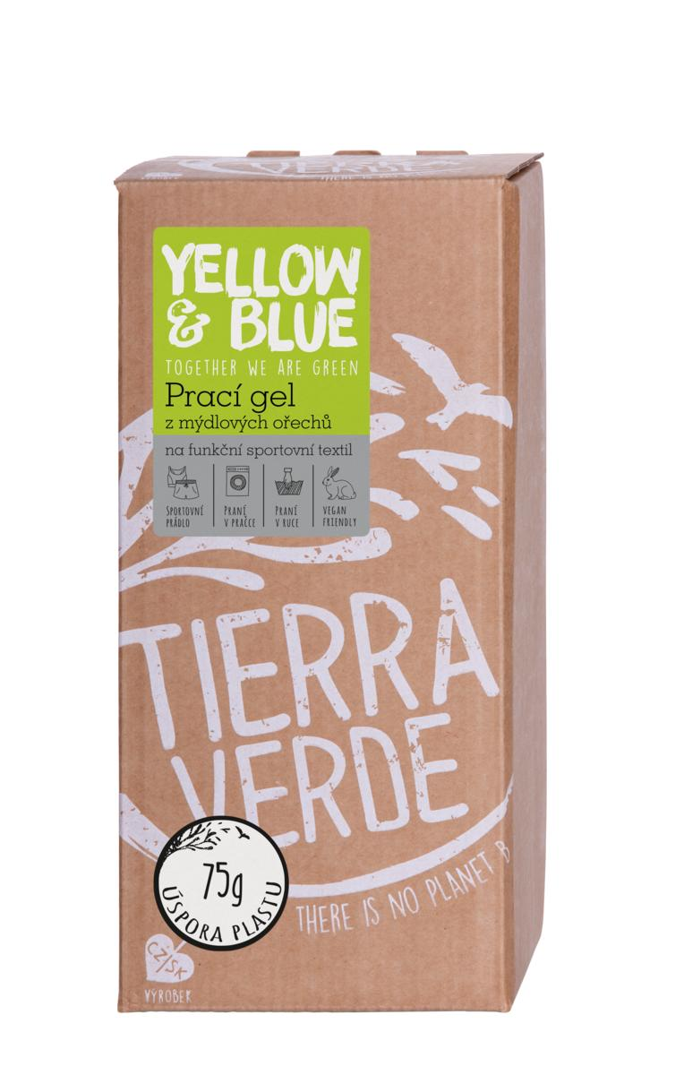 Yellow&Blue Prací gel sport (bag-in-box 2 l)