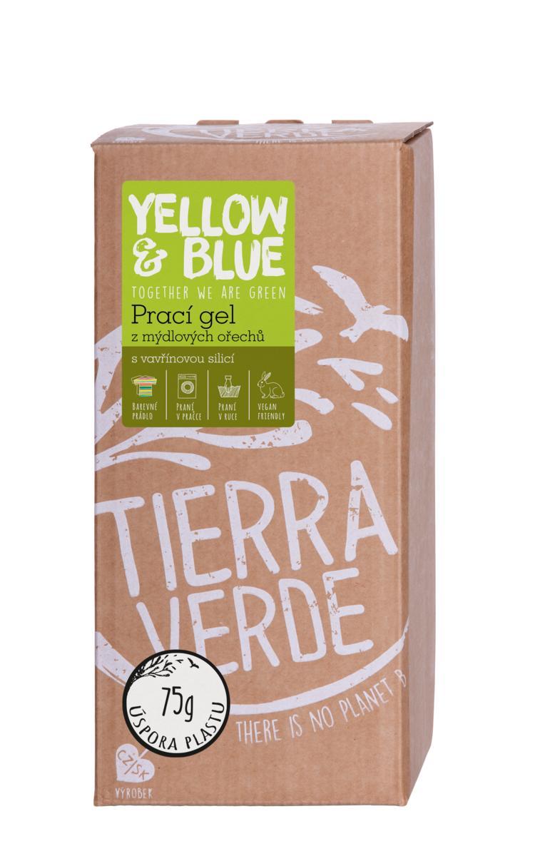 Yellow&Blue Prací gel vavřín (bag-in-box 2 l)