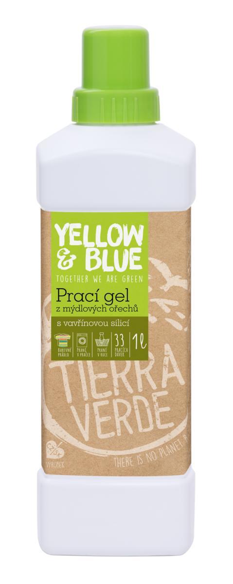 Yellow&Blue Prací gel vavřín (lahev 1 l)