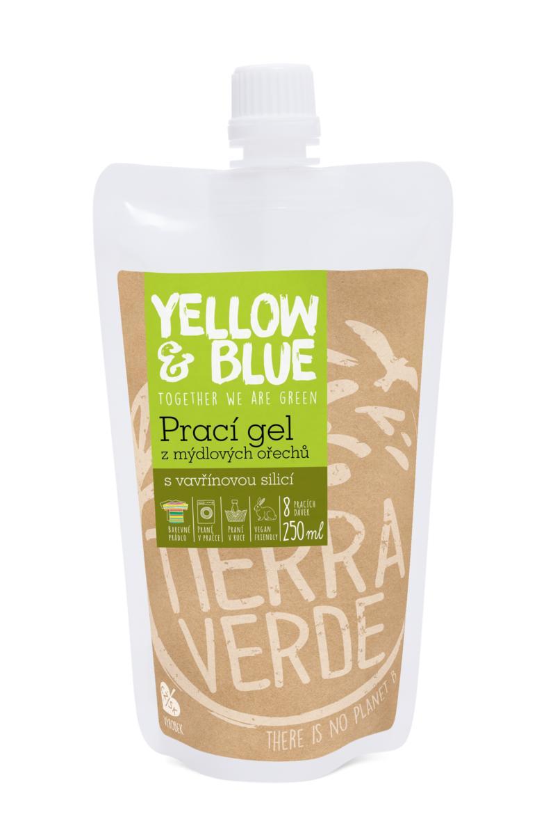 Yellow&Blue Prací gel vavřín (sáček uzávěr 250 ml)