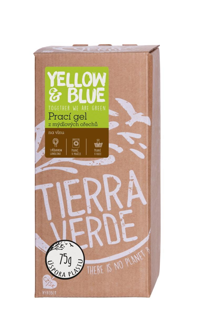 Yellow&Blue Prací gel vlna (bag-in-box 2 l)