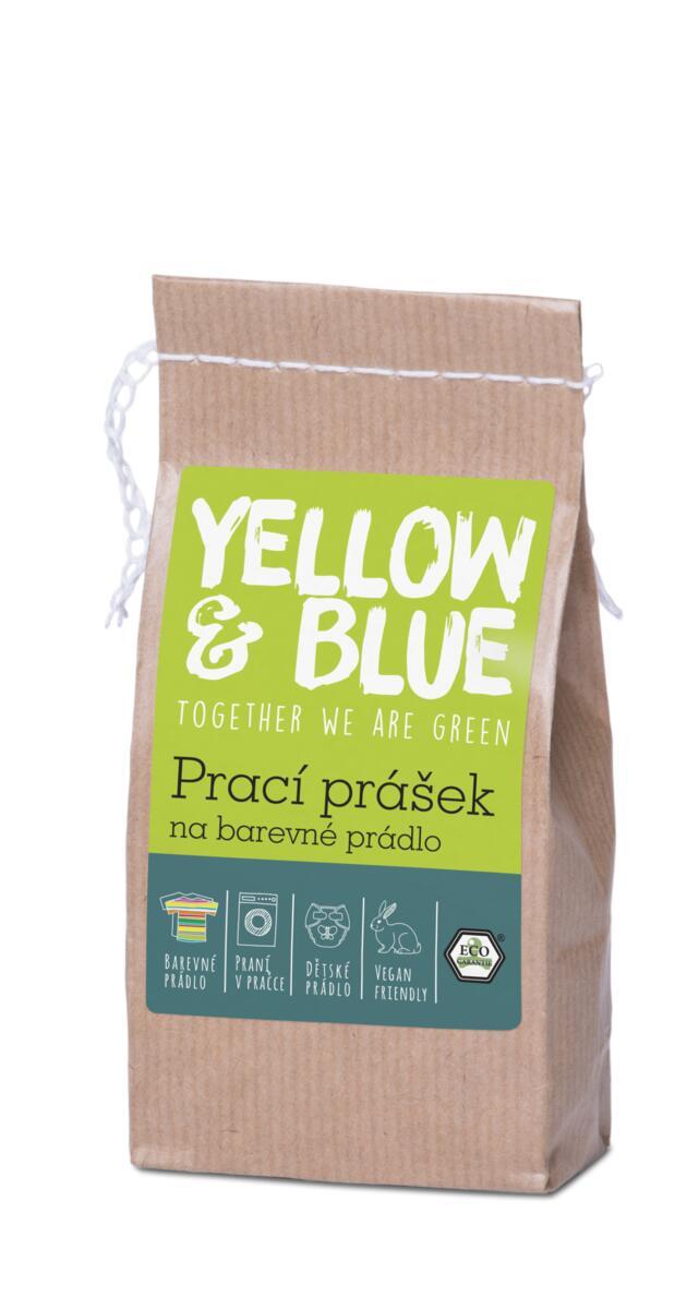 Tierra Verde – Prací prášek na barevné prádlo (Yellow & Blue), 250 g