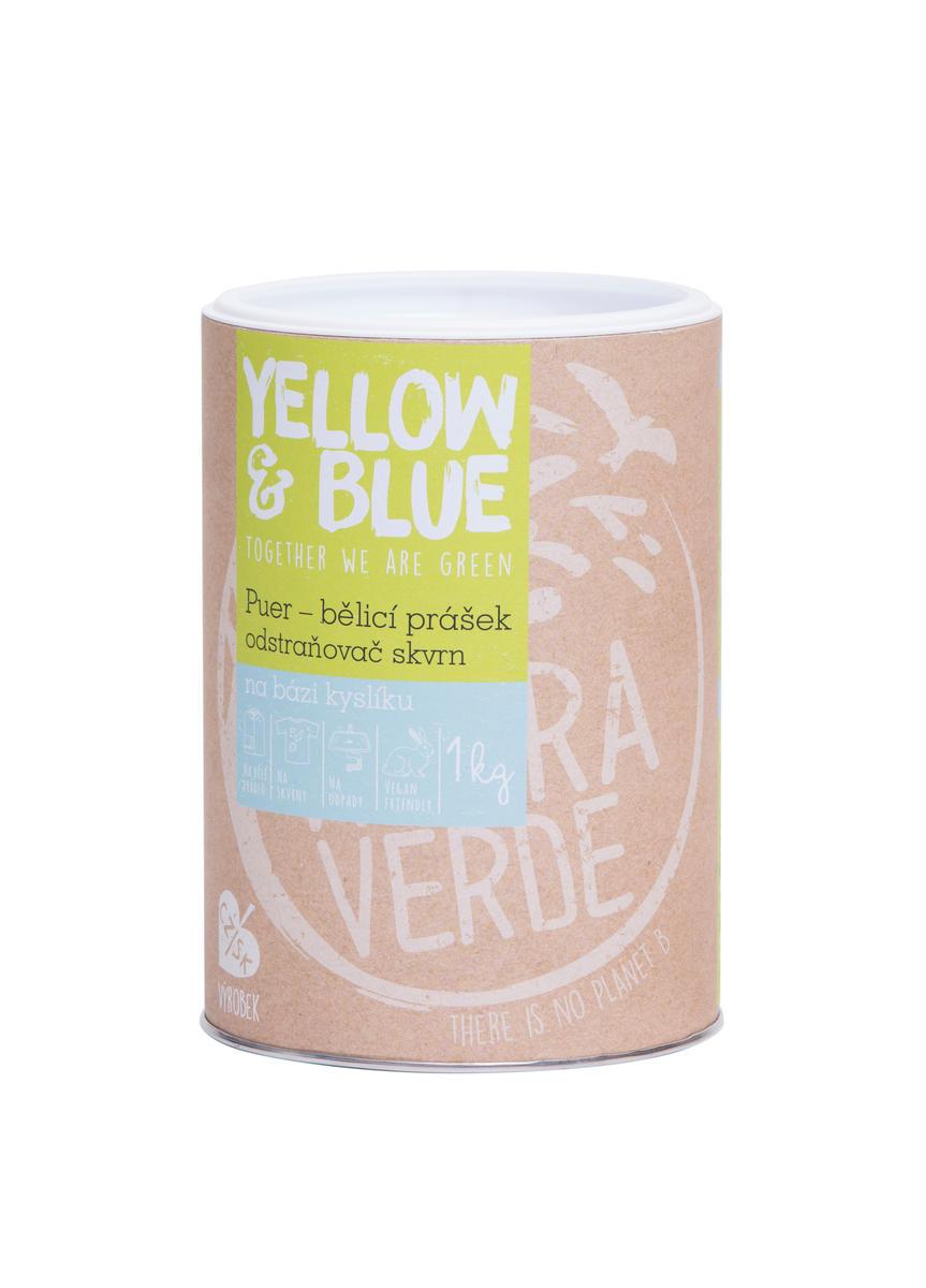 Yellow&Blue Puer – bělící prášek (dóza 1 kg)