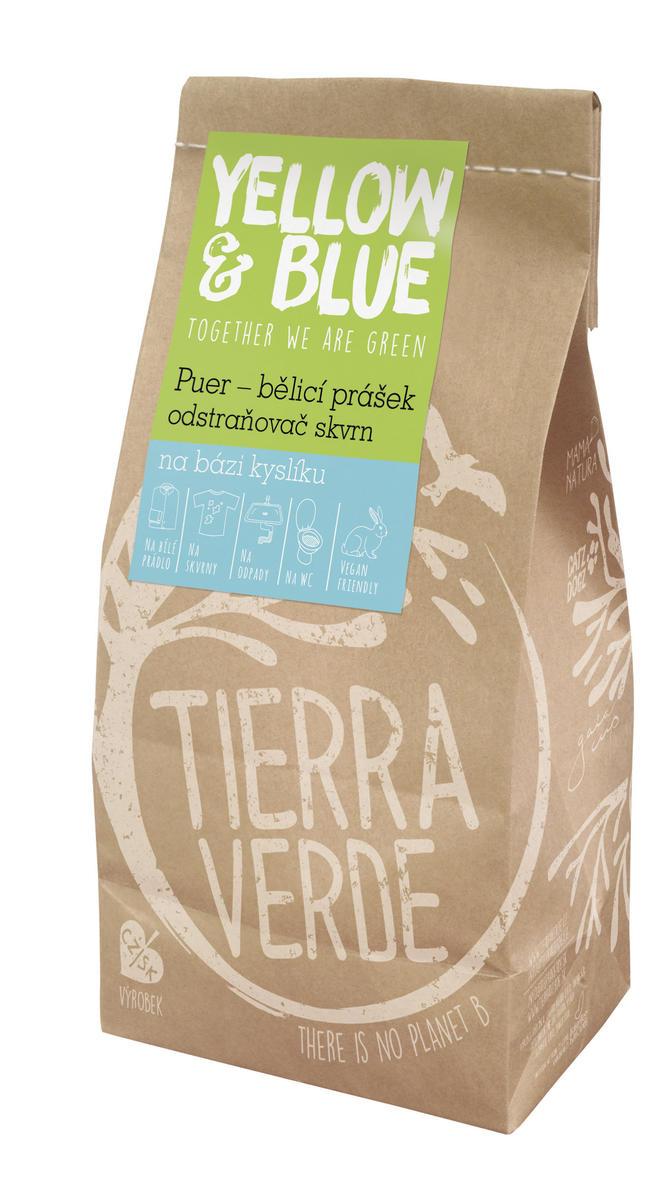 Yellow&Blue Puer – bělící prášek (pap. sáček 1 kg)