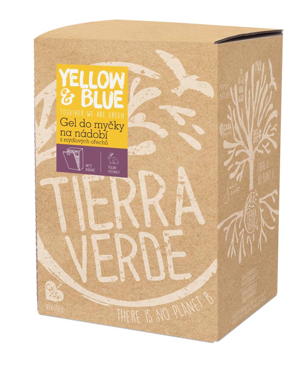 Yellow & Blue gel do myčky z mýdlových ořechů 5 l