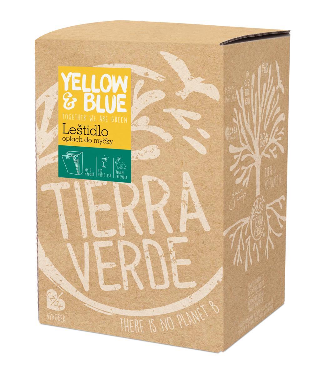 Yellow&Blue Leštidlo - oplach do myčky (bag-in-box 5 l)