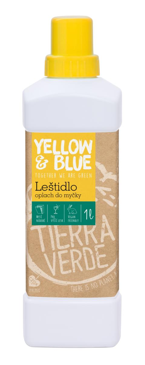 Yellow&Blue Leštidlo - oplach do myčky (lahev 1 l)