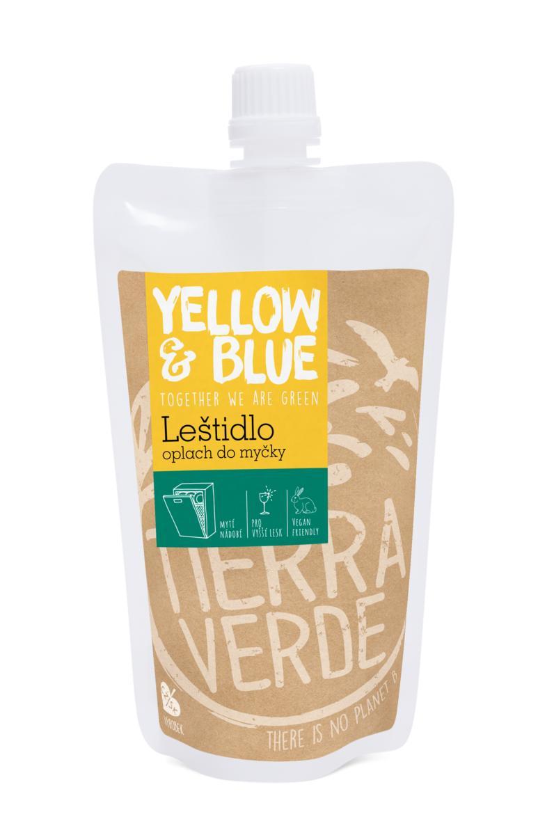 Yellow&Blue Leštidlo - oplach do myčky (sáček uzávěr 250 ml)