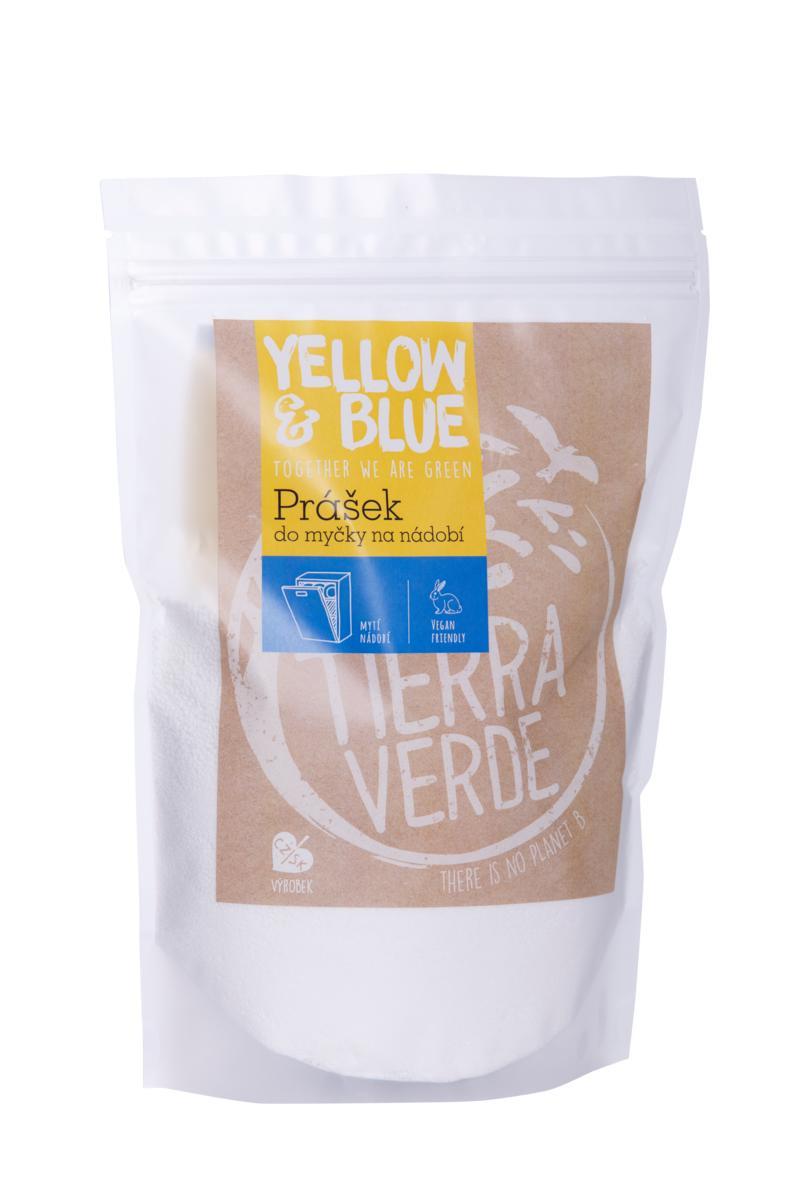 Yellow & Blue prášek do myčky na nádobí 1 kg