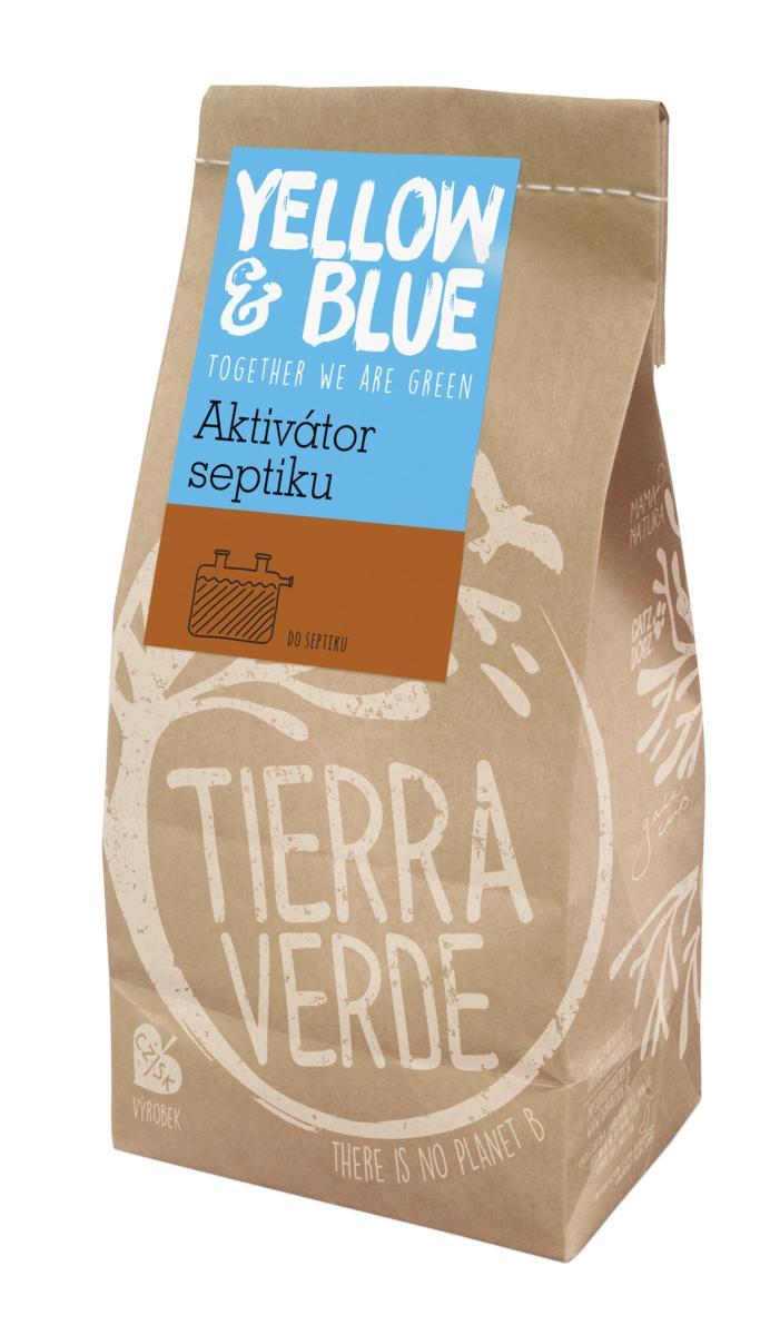 Tierra Verde – Aktivátor septiku (pap. sáček 500 g) (Yellow & Blue), 500 g