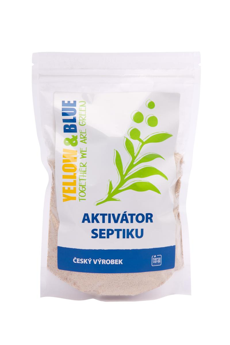 Yellow&Blue Aktivátor septiku (zip sáček 500 g)