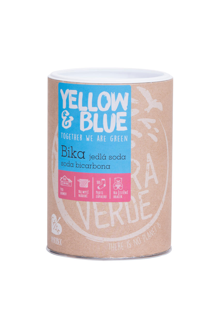 Yellow&Blue Bika – jedlá soda (dóza 1 kg)