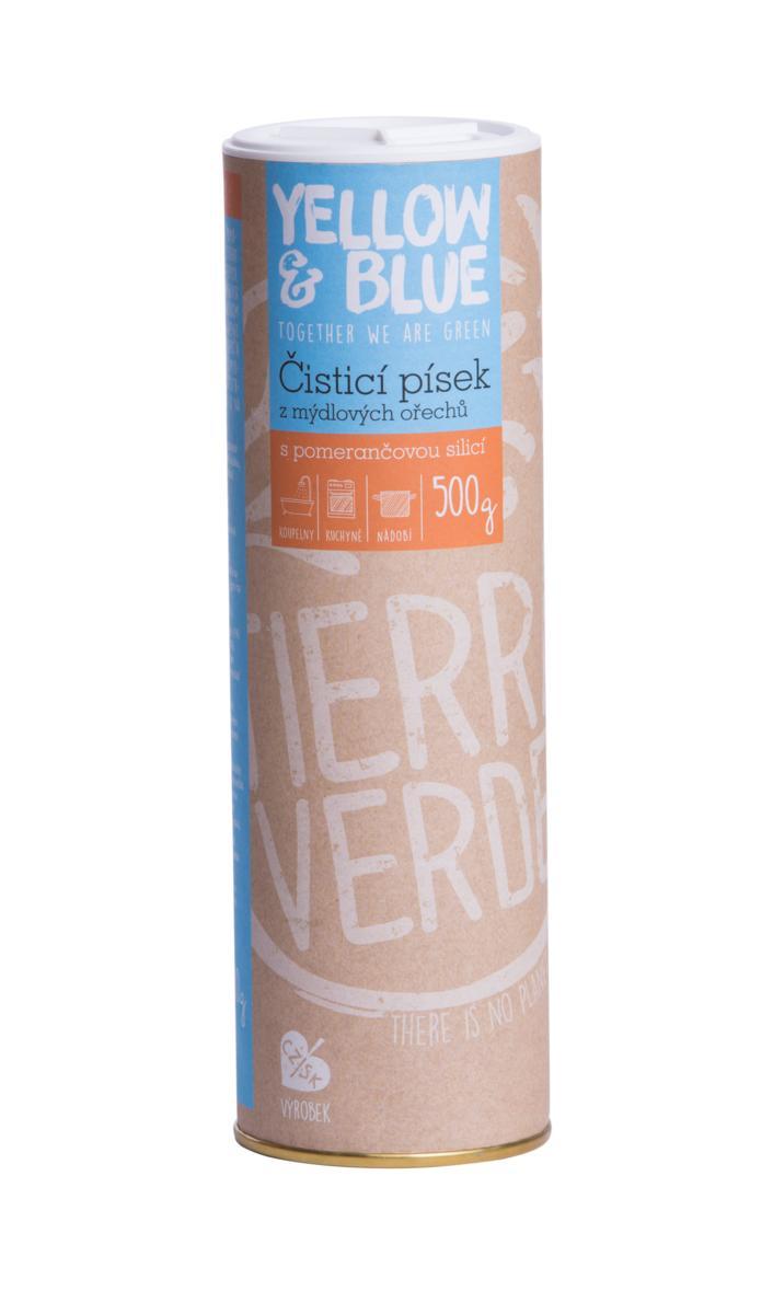 Yellow&Blue Čistící písek (dóza 500 g)