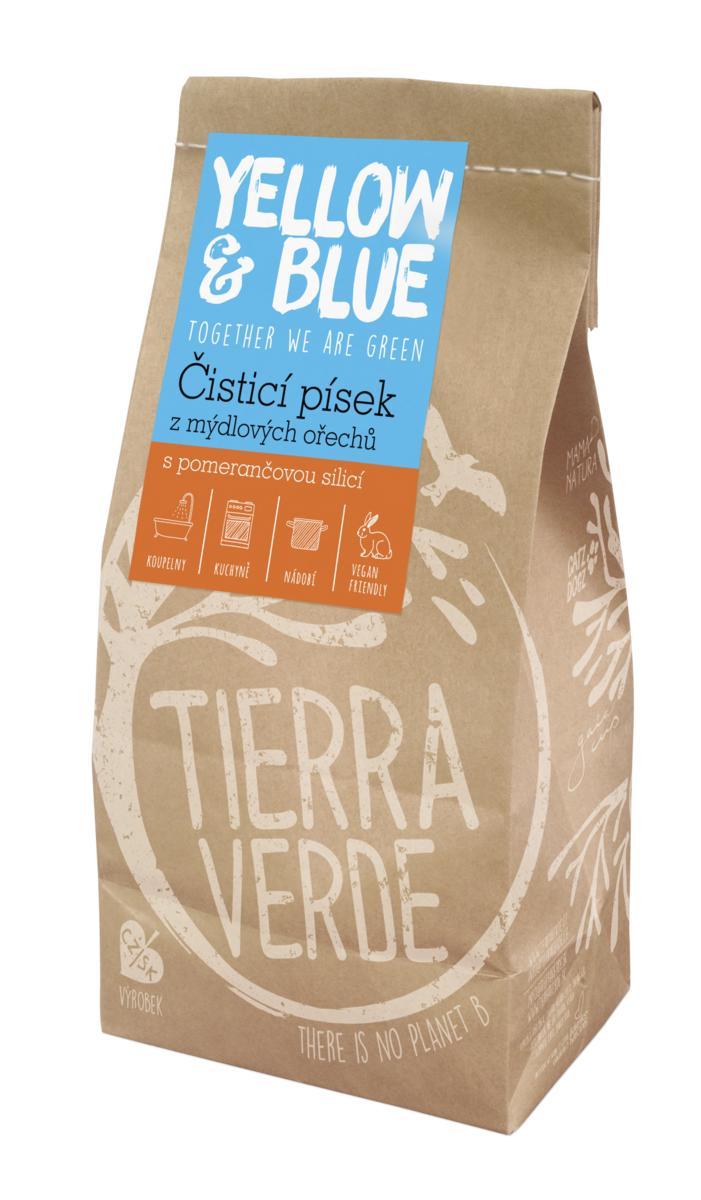 Yellow&Blue Čistící písek (pap. sáček 1 kg)