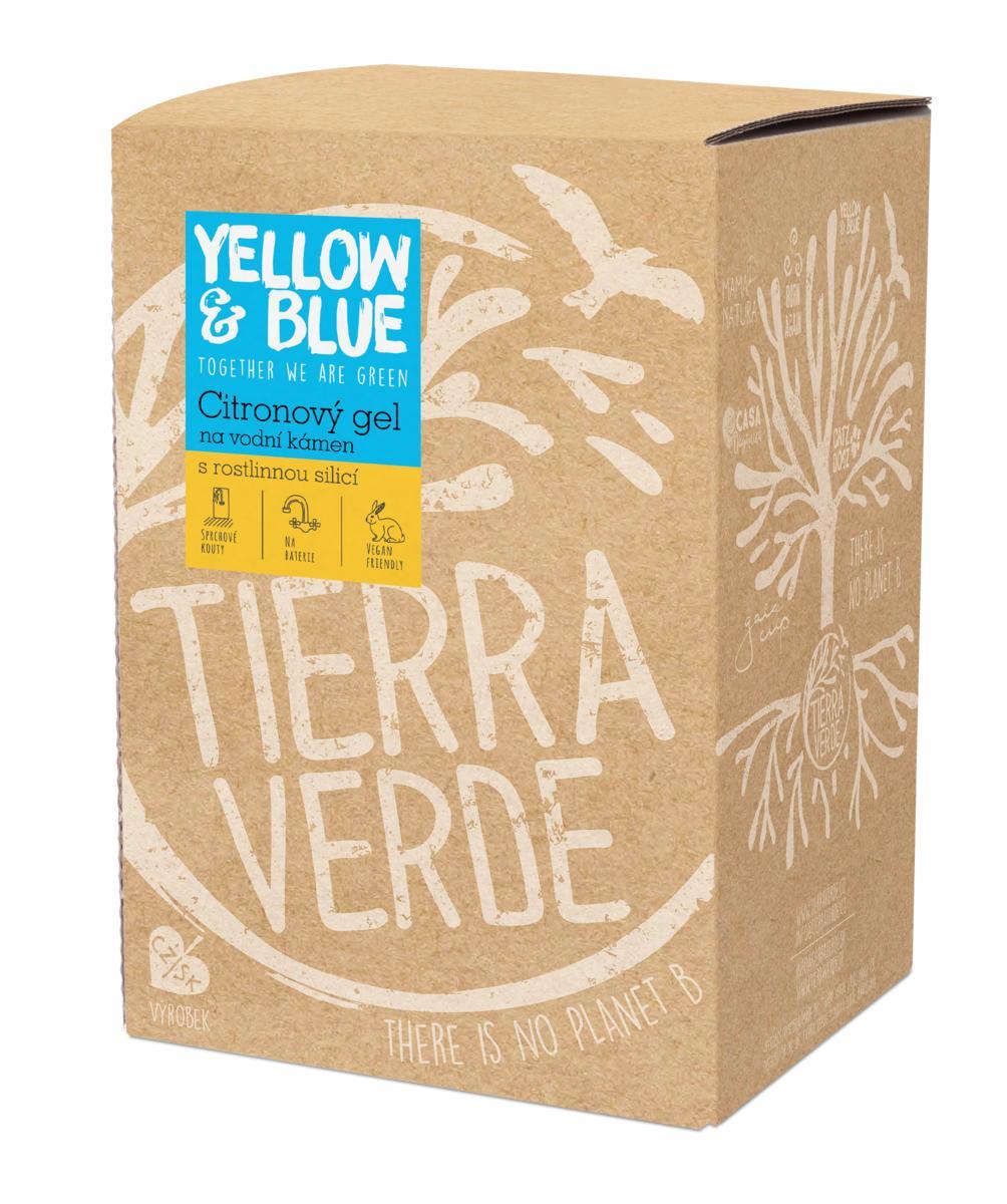 Yellow&Blue Citronový gel na vodní kámen (bag-in-box 5 l)