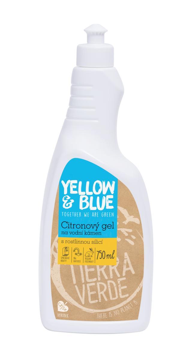 Yellow&Blue Citronový gel na vodní kámen (lahev 750 ml)