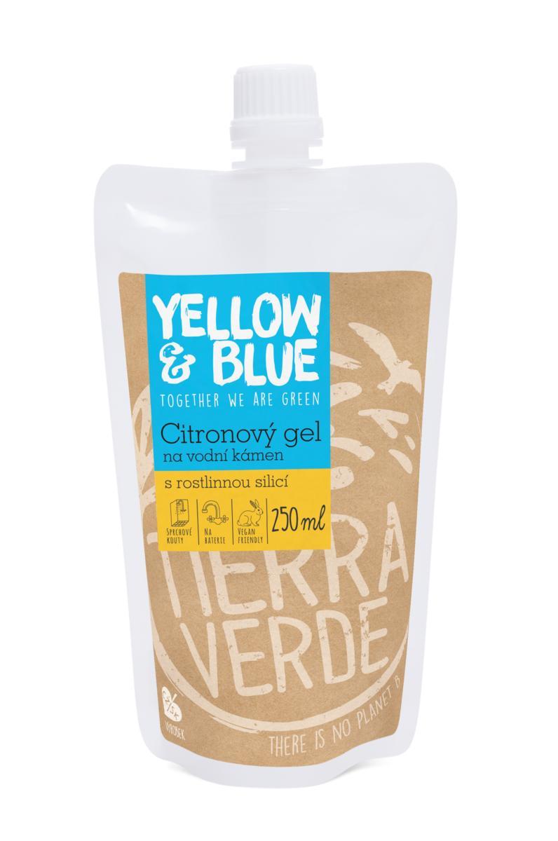 Yellow&Blue Citronový gel na vodní kámen (sáček uzávěr 250 ml)