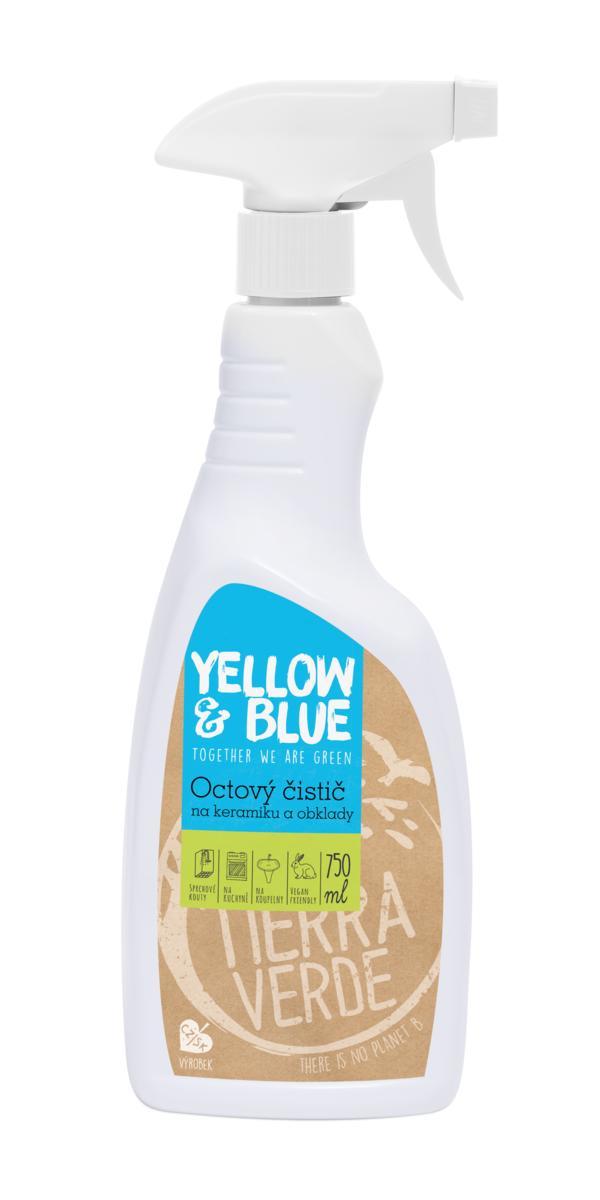 Yellow&Blue Octový čistič (rozprašovač 750 ml)