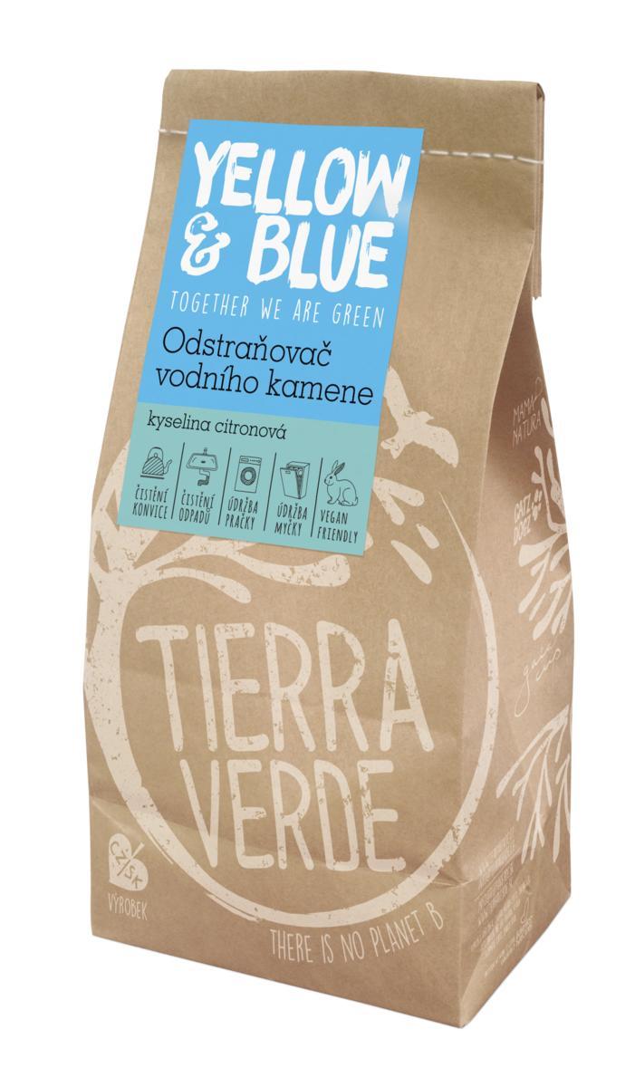 Yellow&Blue Odstraňovač vodního kamene – kyselina citronová (pap. sáček 1 kg)