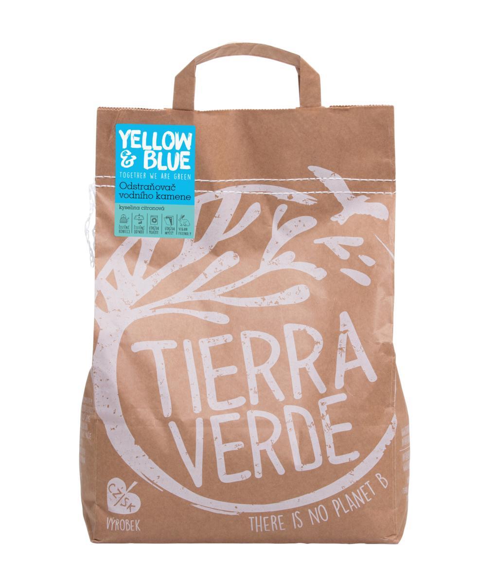 Yellow&Blue Odstraňovač vodního kamene – kyselina citronová (pap. pytel 5 kg)