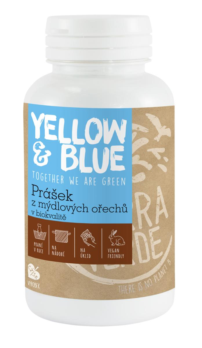 Yellow&Blue Prášek z mýdlových ořechů (dóza 100 g)
