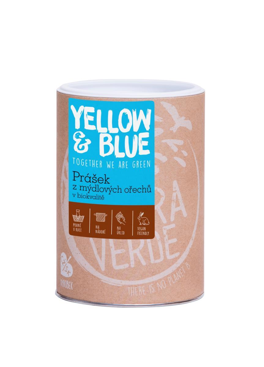 Yellow&Blue Prášek z mýdlových ořechů (dóza 500 g)