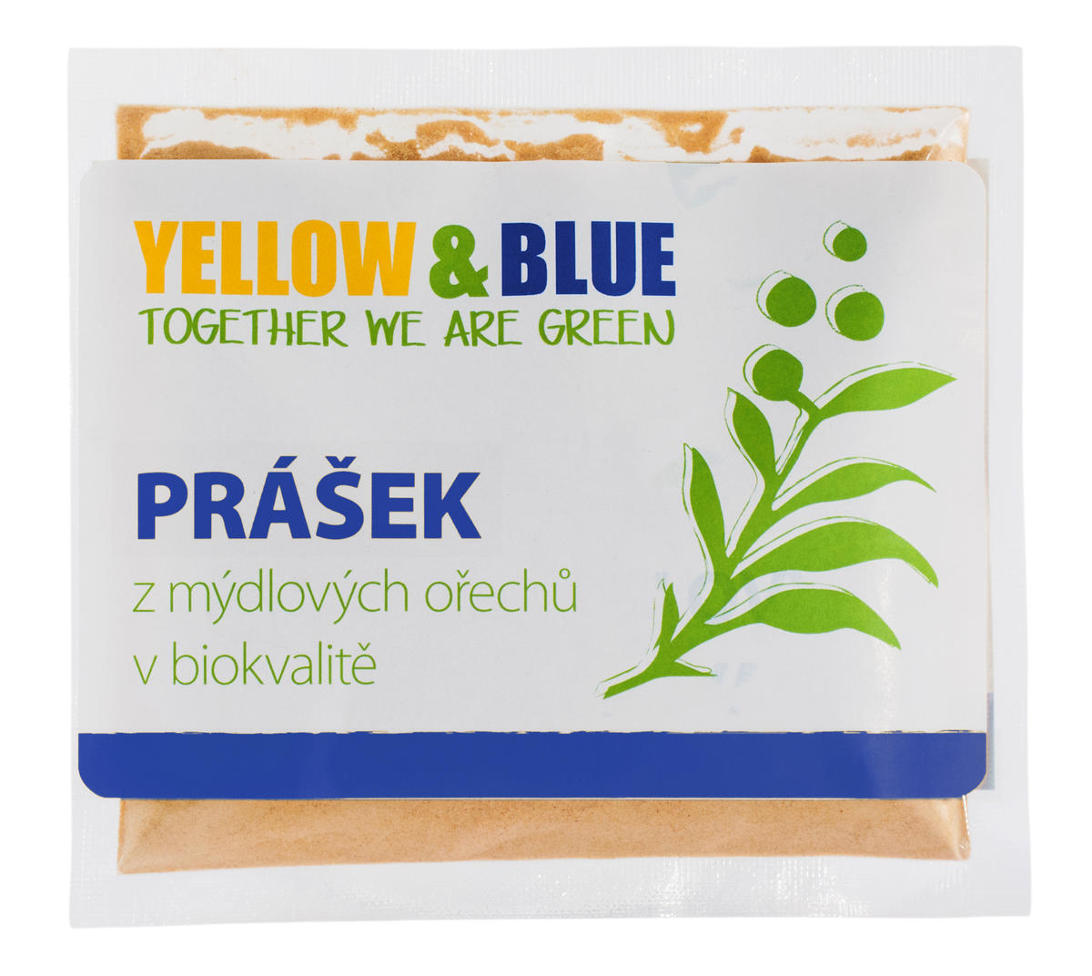 Yellow&Blue Prášek z mýdlových ořechů (sáček 100 g)