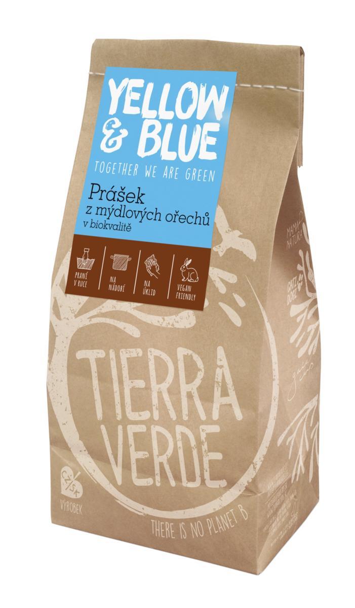 Yellow&Blue Prášek z mýdlových ořechů (pap. sáček 500 g)
