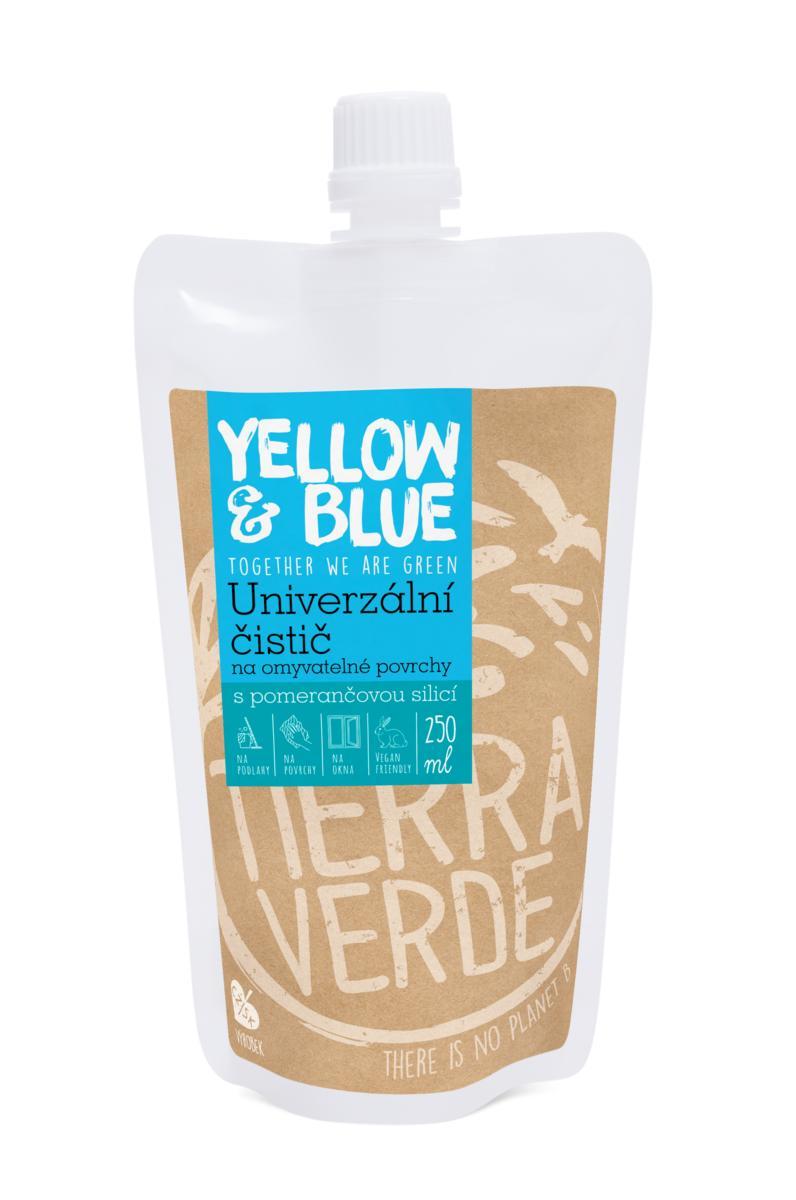 Yellow&Blue Univerzální čistič (sáček uzávěr 250 ml)