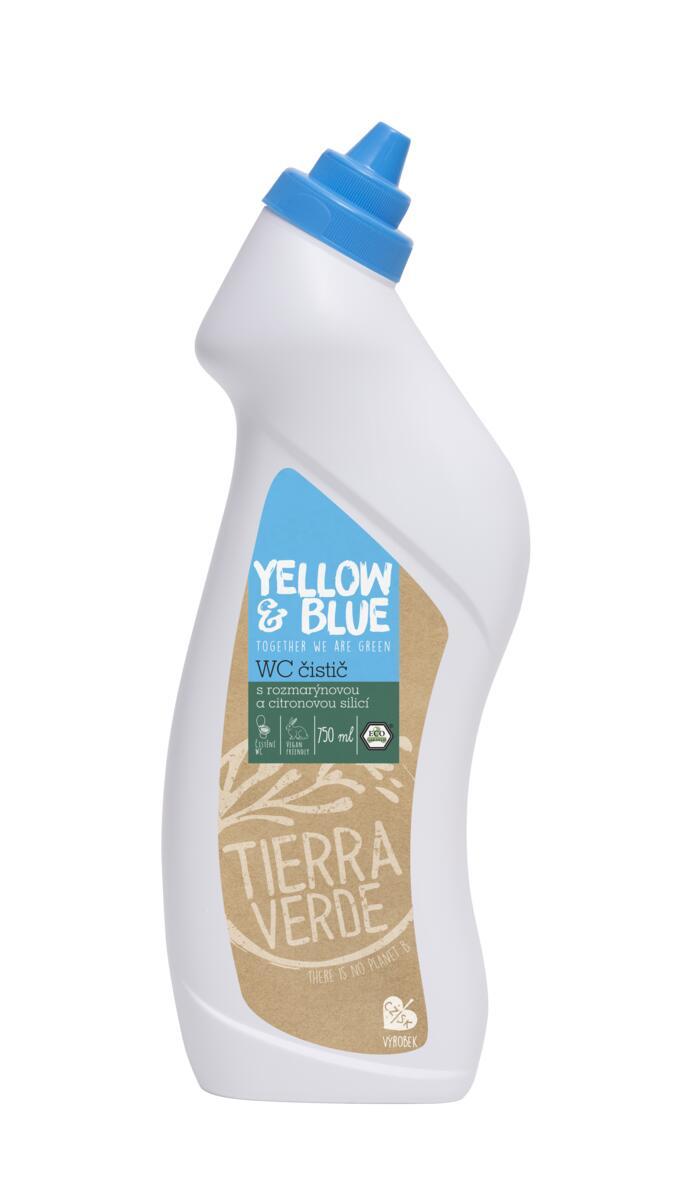 Tierra Verde – WC čistič rozmarýn a citron (Yellow & Blue), 750 ml