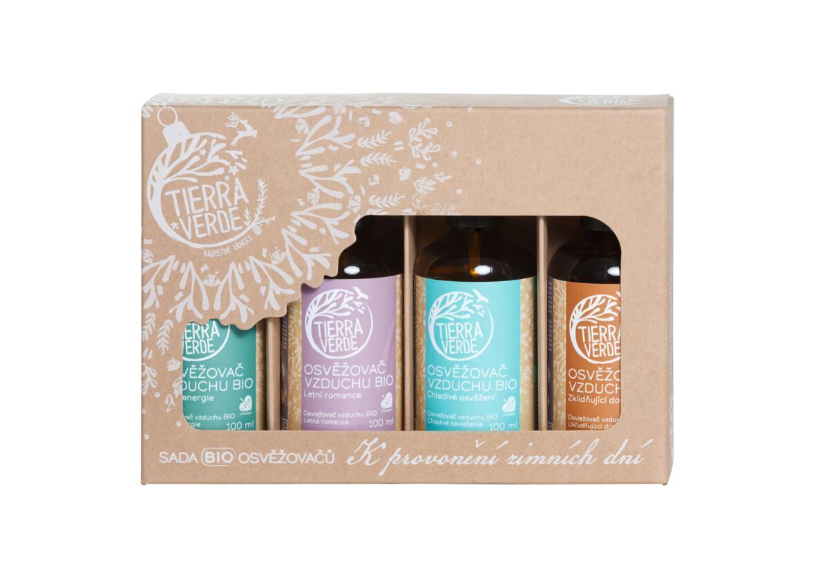Tierra Verde – Sada osvěžovačů – K provonění zimních dní (krabička 4 ks)