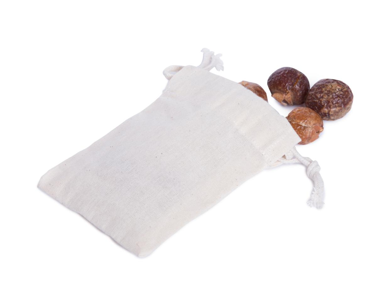 Sáček na mýdlové ořechy – bezobal 10 ks