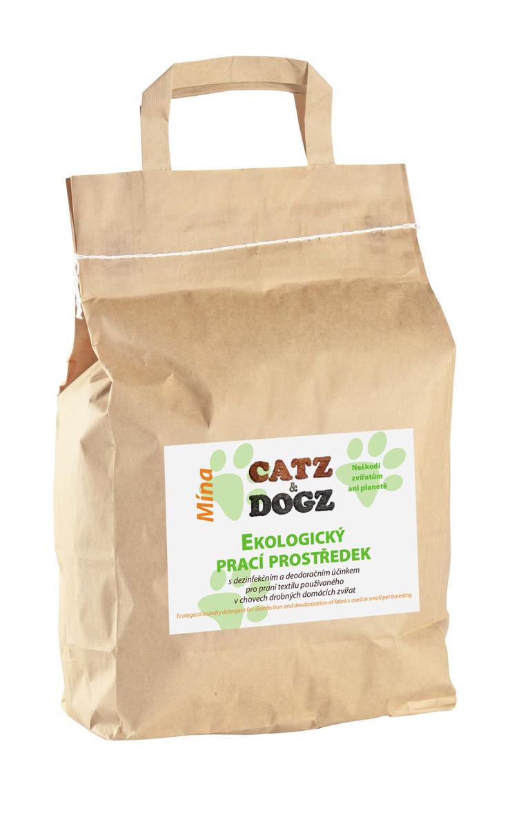 Catz&Dogz Mína – prací prostředek pro zvířata (pap. pytel 5 kg)