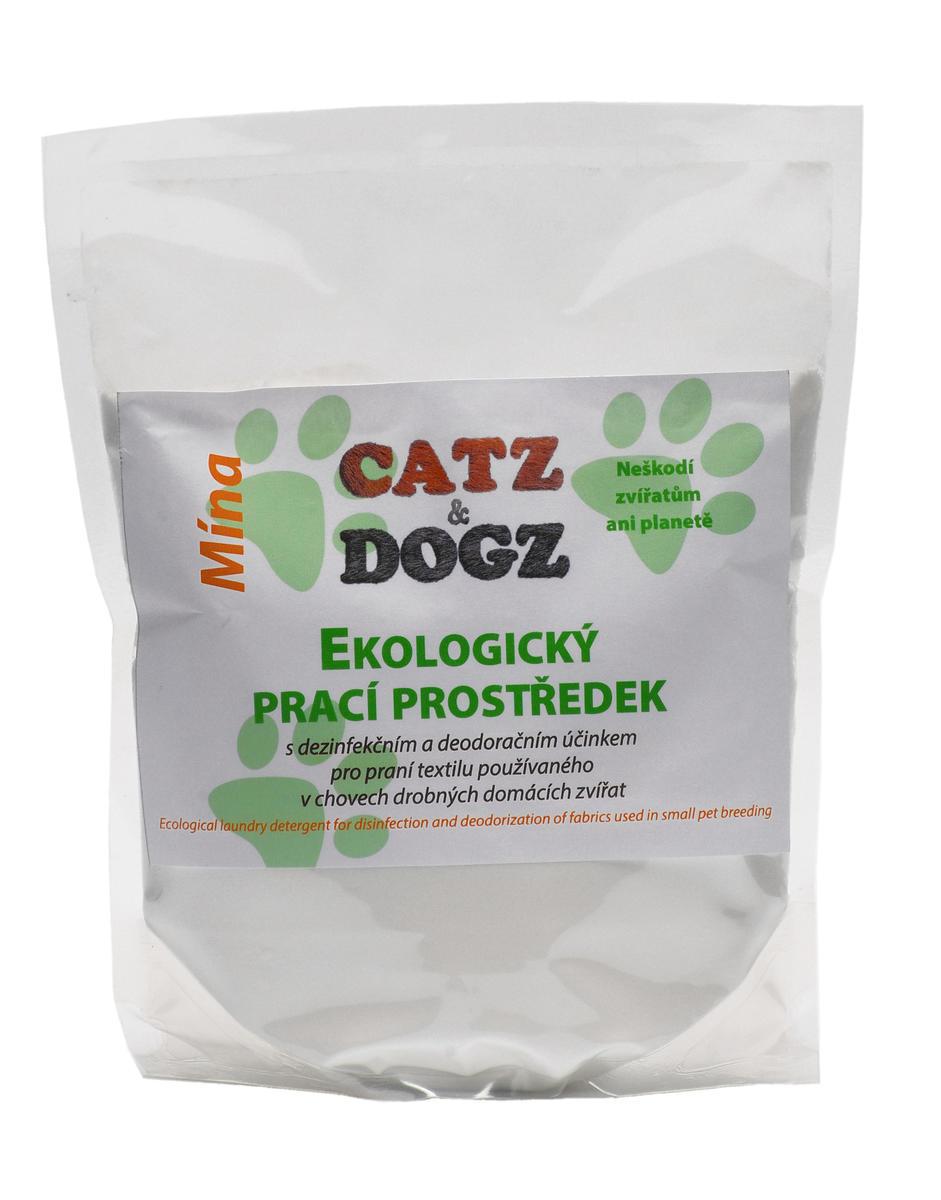Catz&Dogz Mína – prací prostředek pro zvířata (zip sáček 1 kg)