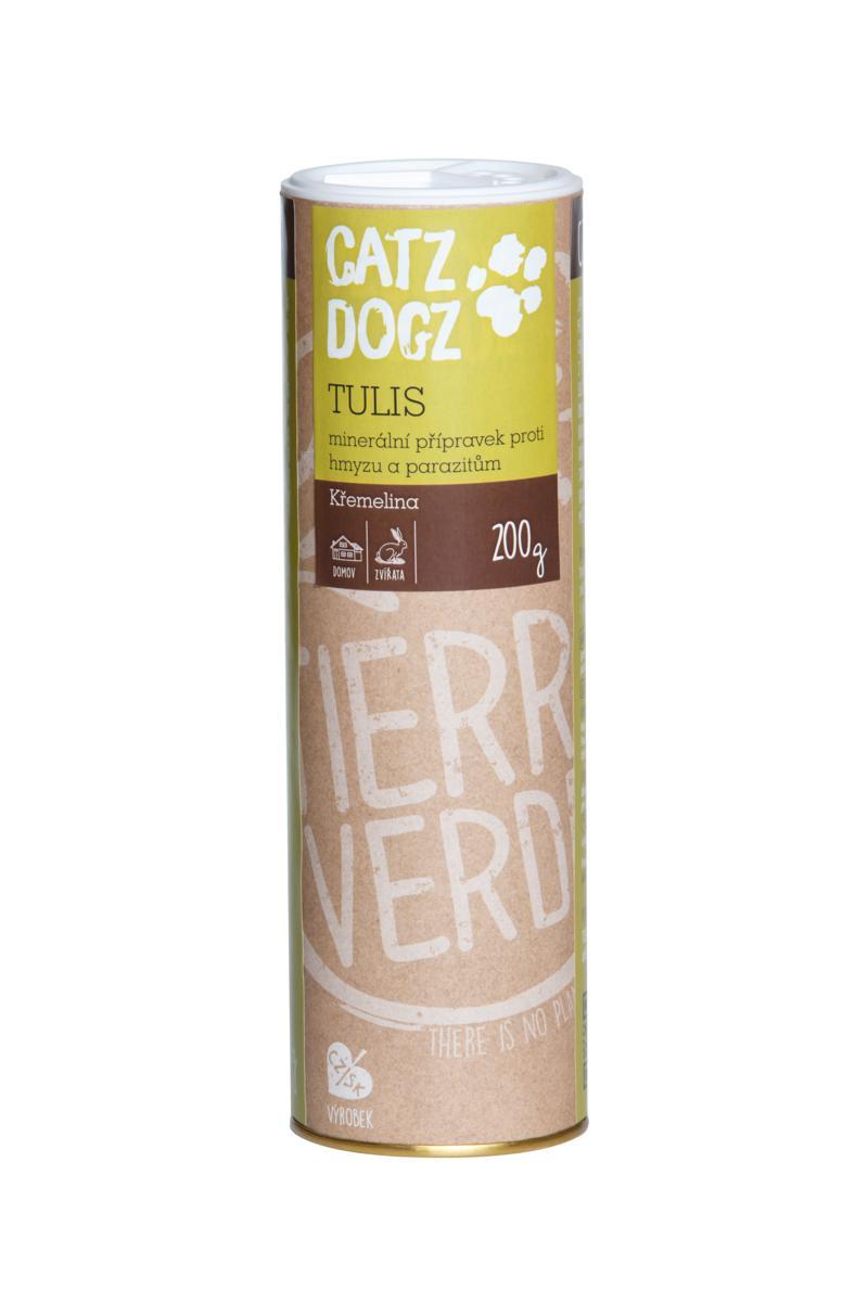 Catz&Dogz Tulis – čistění od parazitů a hmyzu (dóza 200 g)