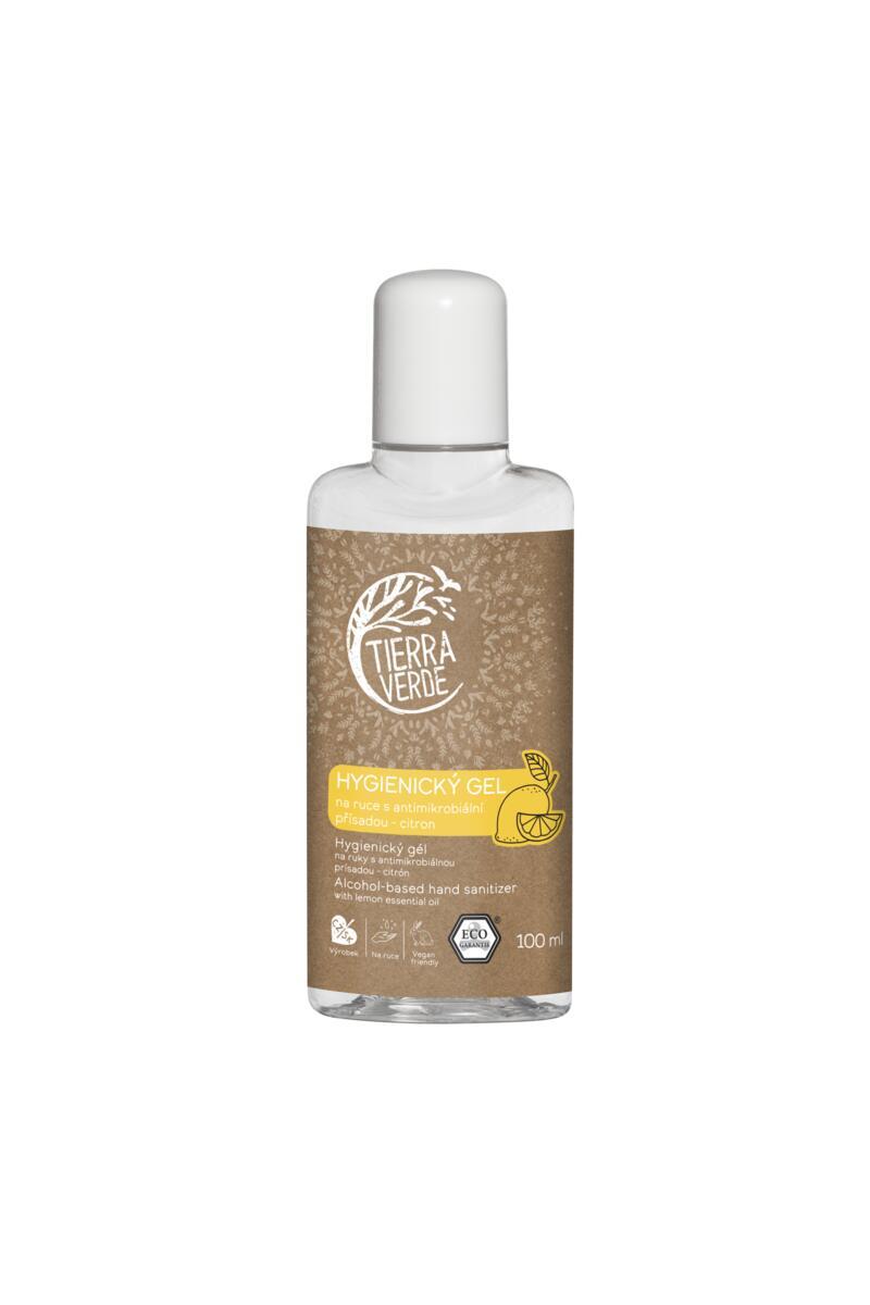 Tierra Verde – Hygienický gel na ruce citron, 100 ml