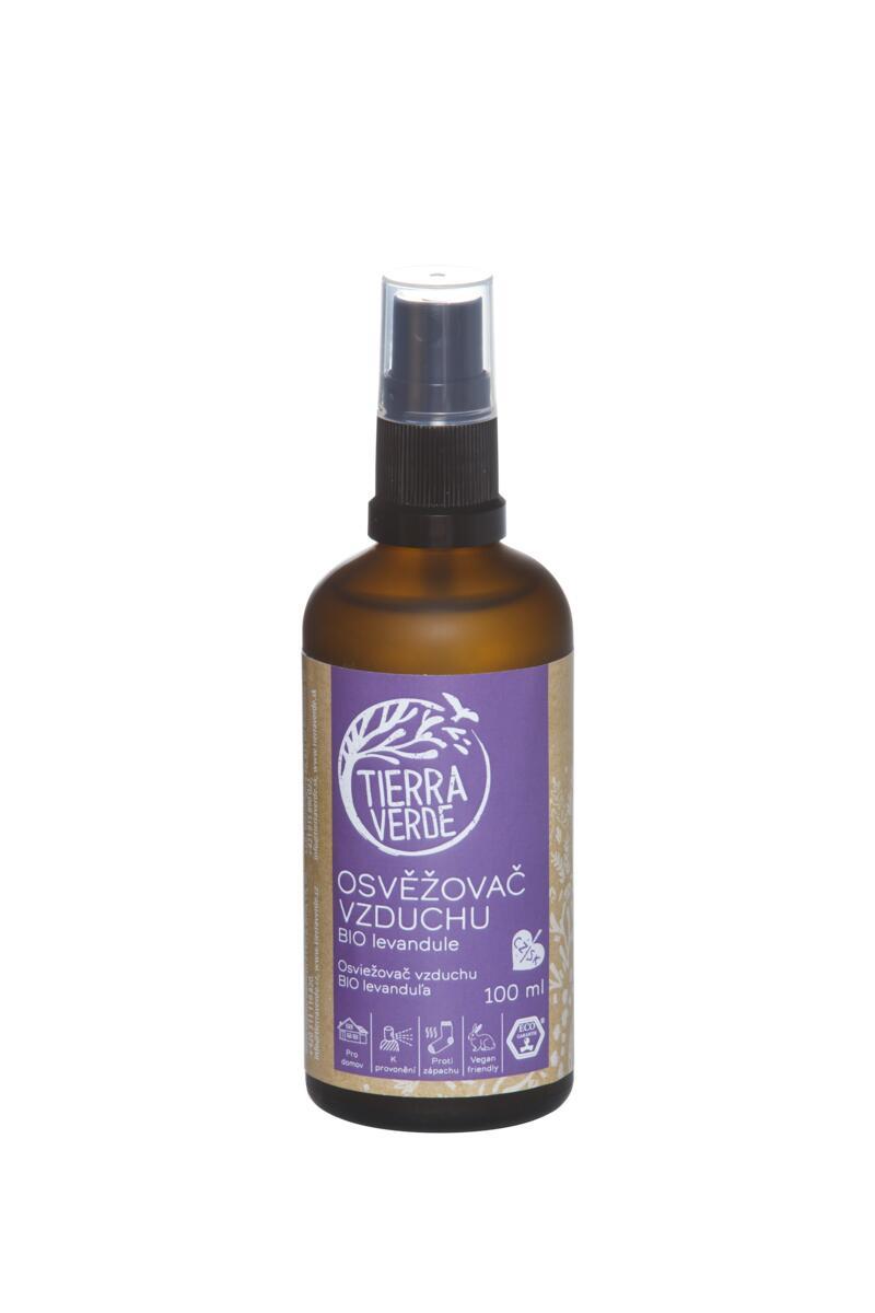 Tierra Verde Osvěžovač vzduchu – BIO levandule (lahvička 100 ml)