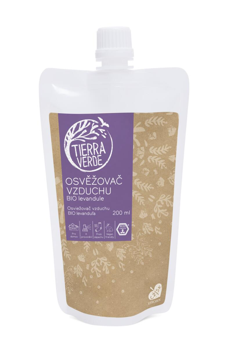 Tierra Verde – Osvěžovač vzduchu – BIO Levandule, 200 ml