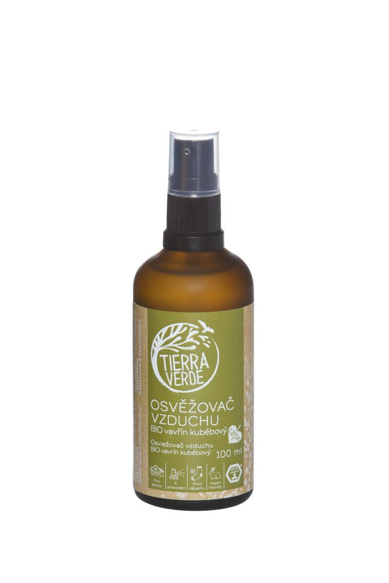 Tierra Verde Osvěžovač vzduchu – BIO vavřín kubébový (lahvička 100 ml)