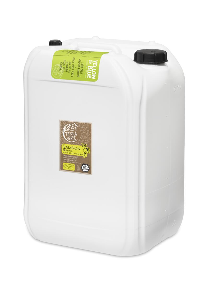 Tierra Verde – Šampon březový svůní citronové trávy, 25 l
