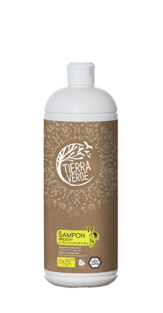 Tierra Verde – Šampon březový svůní citronové trávy, 1 l